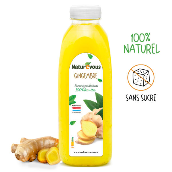 jus de gingembre naturevous 25cl