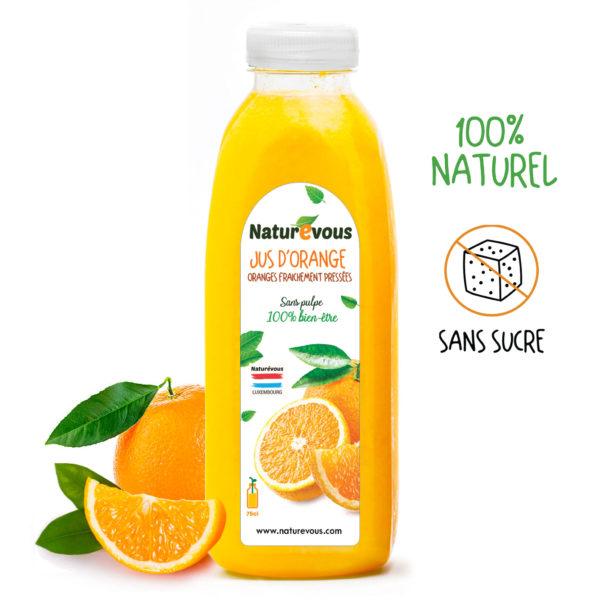 jus orange naturevous 75cl